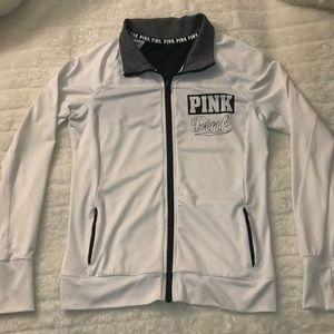 PINK Victoria's Secret Tops - Pink Victoria Secret Full Zip Windbreaker